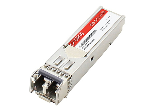 Proline Enterasys MGBIC-LC03 Compatible 1000BASE-LX SFP MMF 1310NM 2KM LC