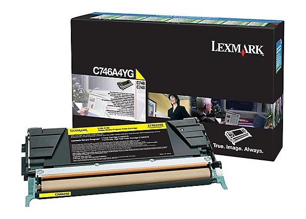 Lexmark RP C746 C748 Toner Cartridge Yellow