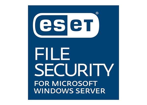 ESET File Security for Microsoft Windows Server - subscription license rene