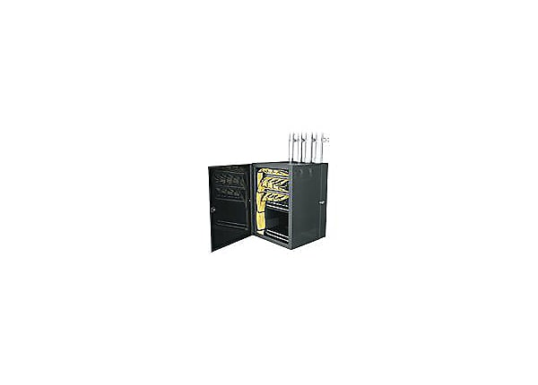 Middle Atlantic CWR Series CableSafe Data Wall Cabinet CWR-26-32PD cabinet