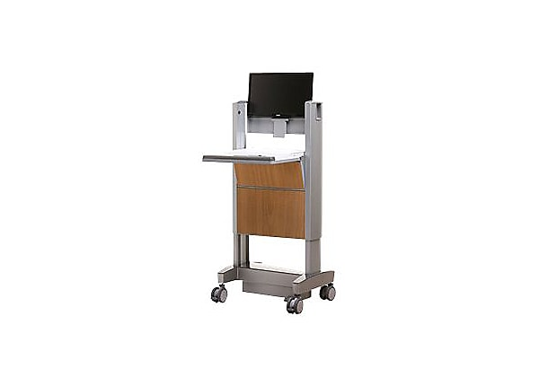 Capsa Healthcare Non Powered Mobile Technology Cabinet - cart
