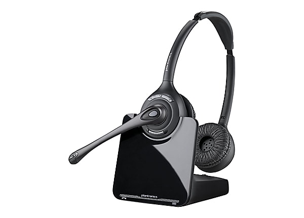 Plantronics Cs520 Wireless Dect Headset System With Hl10 Handset Lifter 84692 11 Headsets Cdw Com
