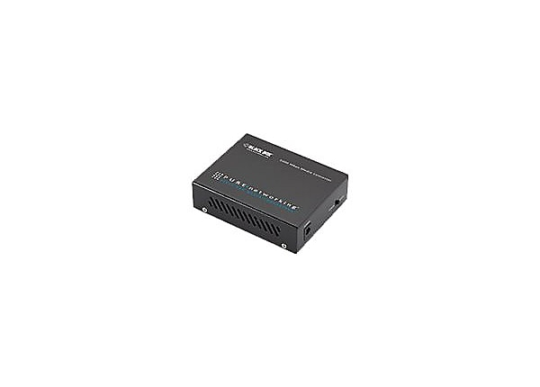 Black Box Pure Networking Gigabit Media Converter - fiber media converter -