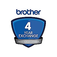 Brother extended service agreement - 4 years - shipment