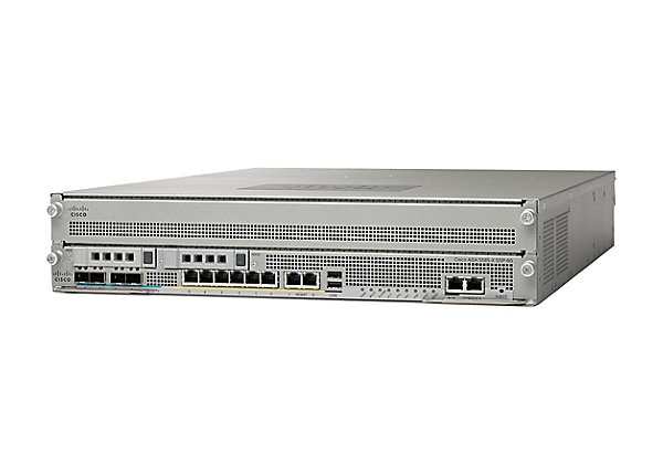 Cisco ASA 5585-X IPS Edition SSP-60 and IPS SSP-60 bundle - security applia