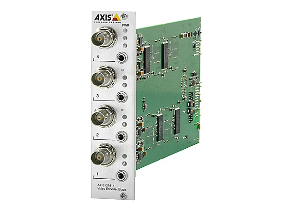 AXIS Q7414 Video Encoder Blade - video server - 4 channels