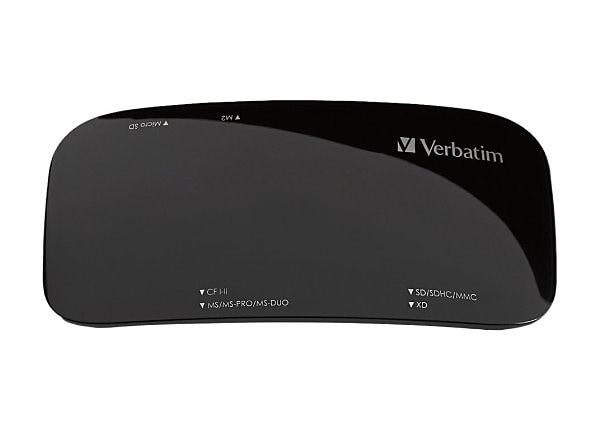 Verbatim USB 2.0 Universal Card Reader - card reader - USB 2.0