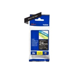 Brother TZe-355 - laminated tape - 1 roll(s) - Roll (2.4 cm x 8 m)