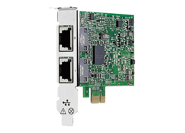 HPE 332T - network adapter - PCIe 2.0 - Gigabit Ethernet x 2