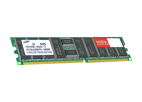 Proline - SDRAM - module - 256 MB - SO-DIMM 144-pin - unbuffered