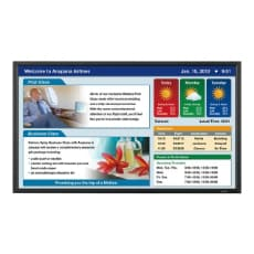 "Sharp PN-E602 - 60"" LED-backlit LCD flat panel display"