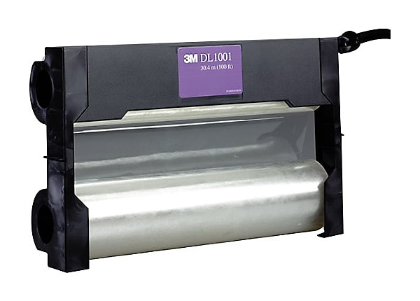 3M DL1001 - transparent - Roll (12 in x 99 ft) - dual laminating film cartr
