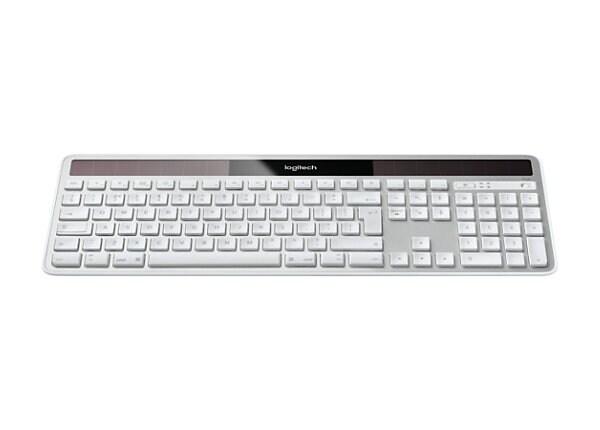 Logitech Wireless Solar K750 for Mac - keyboard - English - white