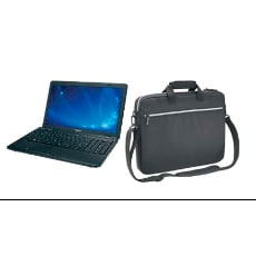 Toshiba Satellite C655D-S5330 with Lightweight Carrying Case (Bundle)