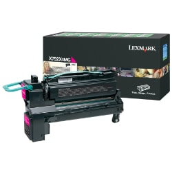 Lexmark X792 Extra High Yield Return Program Toner Cartridge - Magenta