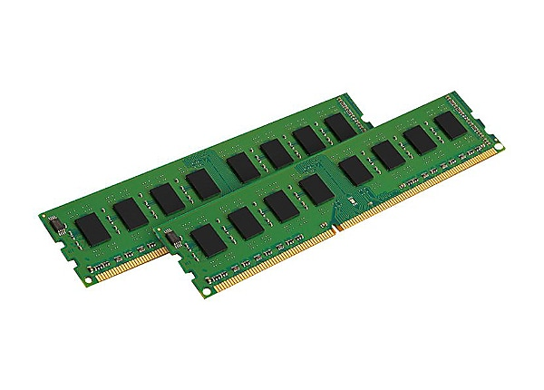 Kingston ValueRAM - DDR3 - 16 GB: 2 x 8 GB - DIMM 240-pin - unbuffered