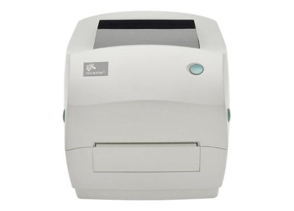 Zebra G-Series GC420t - label printer - monochrome - direct thermal / therm