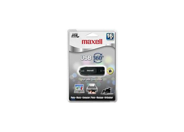 Maxell 360° - USB flash drive - 16 GB