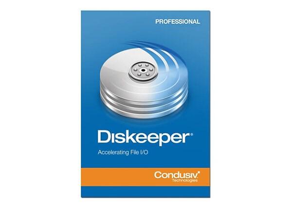 Diskeeper Professional Edition (v. 12) - maintenance (1 year) - 1 workstati