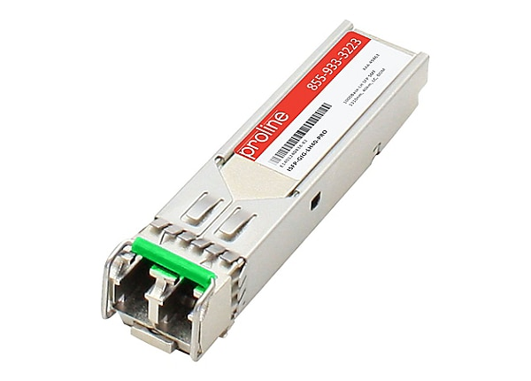 Proline Alcatel Compatible 1000BASE-LH 1310nm 40km Industrial Temp SFP