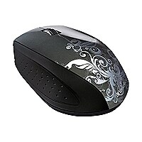 Verbatim Wireless Optical Design Mouse - mouse - 2.4 GHz - graphite