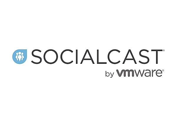 Socialcast On Premise platform - subscription license (1 year) + 1 Year VMw