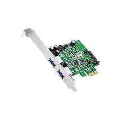 SIIG DP 2 Port USB 3.0 PCIe - USB adapter