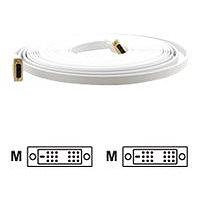 Kramer C-DM/DM/FLAT(W) Series C-DM/DM/FLAT(W)-35 - DVI cable - 35 ft