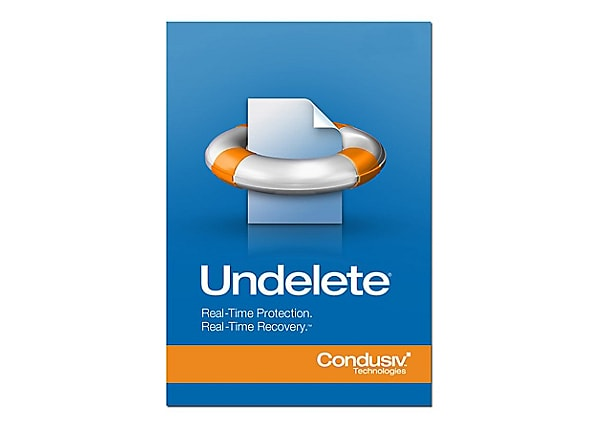 Undelete Professional Edition (v. 10) - license - 1 workstation