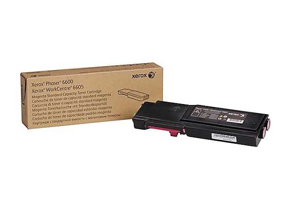 Xerox Phaser 6600 - magenta - original - toner cartridge