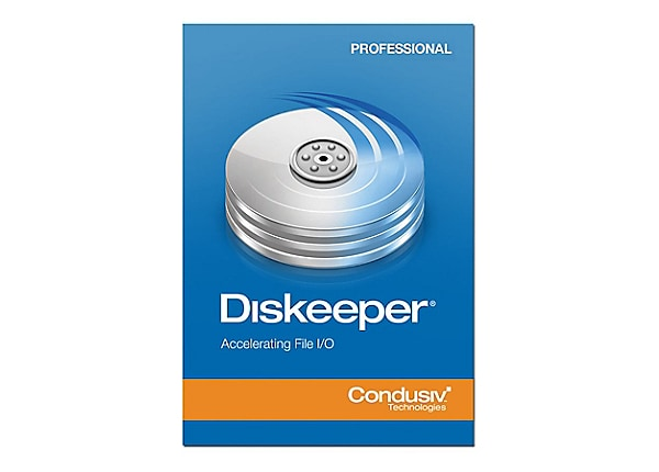 Diskeeper Professional (v. 12) - maintenance (1 year) - 1 workstation