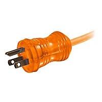 C2G 50ft 16AWG Hospital Grade Power Extension Cable (NEMA 5-15P to NEMA 5-1