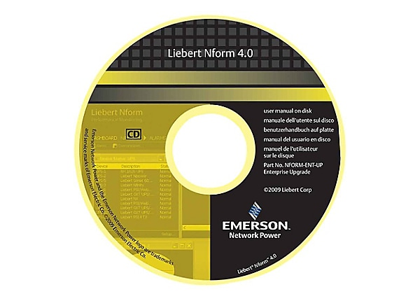 Liebert Nform Standard Edition - license - 30 devices