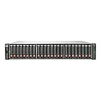 HPE Modular Smart Array P2000 G3 SAS Dual Controller SFF Array System - har