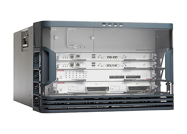 Cisco Nexus 7004 Bundle - switch - managed - rack-mountable - with 2 x Cisc
