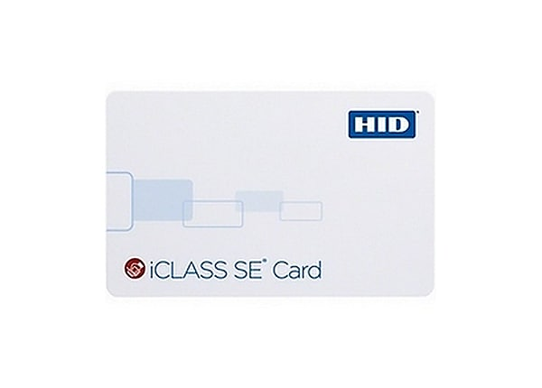 HID iClass Clamshell Card 2K Programmable