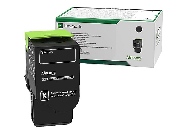 Lexmark 701K Black Standard Yield Toner Cartridge