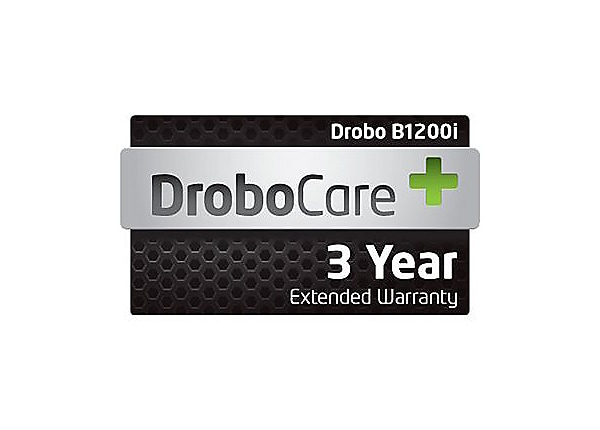DroboCare 3 Year - extended service agreement - 3 years - shipment
