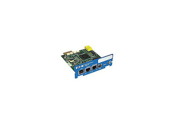 Eaton Power Xpert Gateway UPS card - remote management adapter