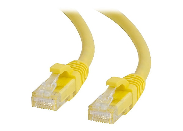 C2G 100ft Cat6 Snagless Unshielded UTP Network Patch Ethernet Cable Yellow