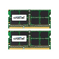 Crucial - DDR3 - kit - 8 Go: 2 x 4 GB - SO-DIMM 204-pin - 1333 MHz / PC3-10