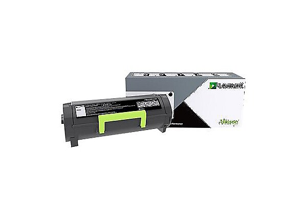 Lexmark 500XA Black Extra High Yield Toner Cartridge