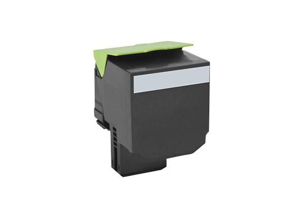 Lexmark 800X1 - Extra High Yield - black - original - toner cartridge - LCC