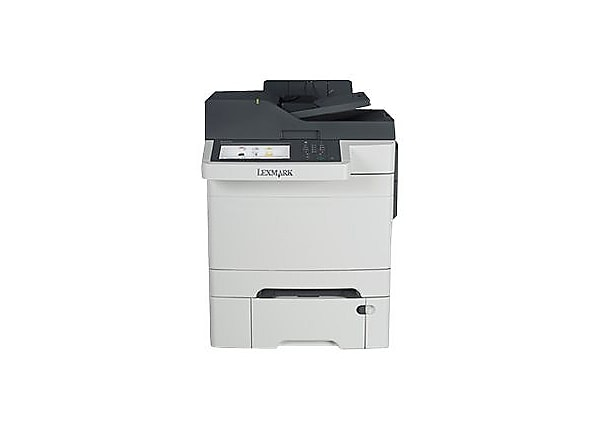 Lexmark CX510dthe - multifunction printer - color