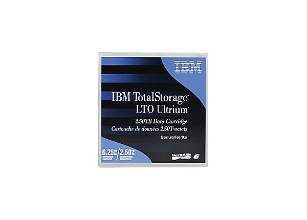 IBM LTO Ultrium 6 2.5 TB Data Cartridge
