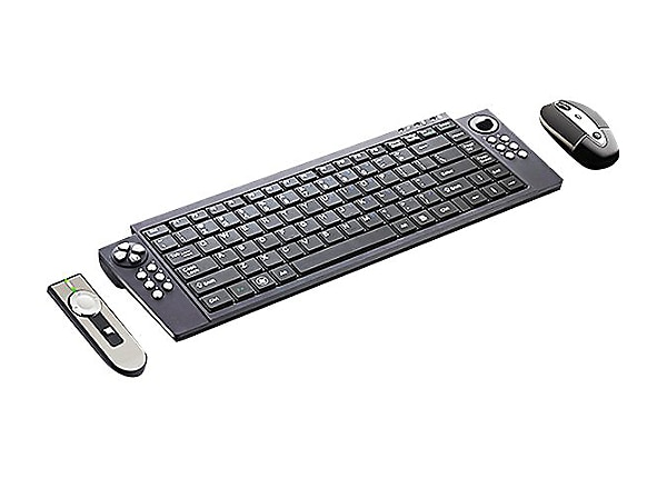 SMK-Link RemotePoint Wireless Keyboard and Mouse Set and Laser Presenter