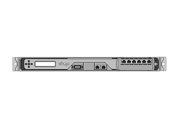 Citrix NetScaler MPX 5650 Platinum Edition - load balancing device