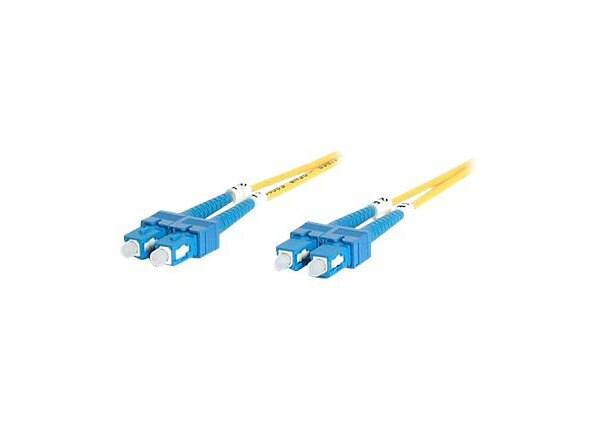 StarTech.com 2m Fiber Optic Cable - Single-Mode Duplex 9/125 LSZH - SC/SC -