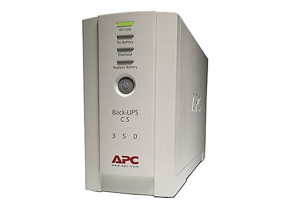 APC Back-UPS 350VA 6-Outlet Back-Up and Surge Protector