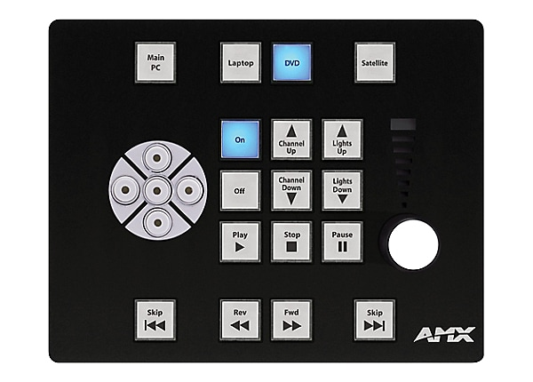 AMX AC-3017 - flush mount faceplate
